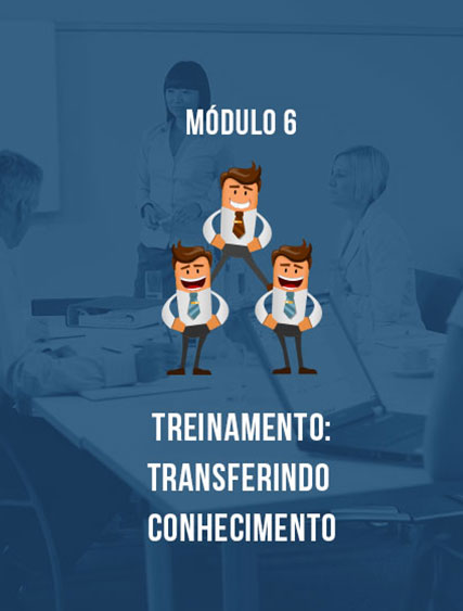 Módulo 6 – Treinamento: Transferindo Conhecimento